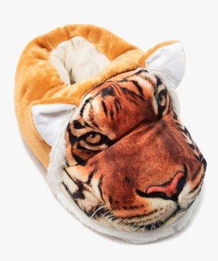 Chaussons garçon en volume tête de tigre vue5 - GEMO C4G GARCON - GEMO