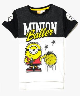 Tee-shirt imprimé basket-ball - Moi, Moche et Méchant vue1 - MINIONS - GEMO