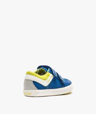 Tennis bébé garçon en toile à scratch - Geox vue4 - GEOX - Nikesneakers