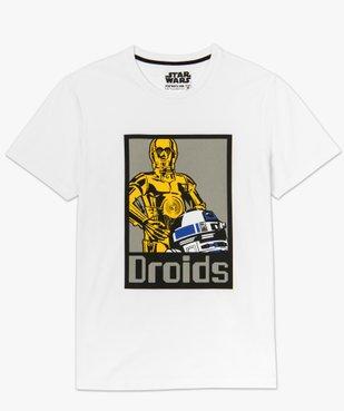 Tee-shirt homme avec motif réfléchissant – Star Wars vue4 - STAR WARS - GEMO