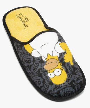 Chaussons homme en forme de mules – Les Simpson vue5 - SIMPSONS - GEMO