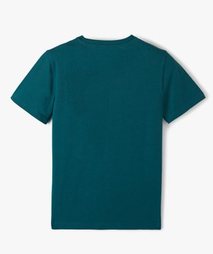 Tee-shirt garçon à manches courtes uni  vue3 - Nikesneakers C4G GARCON - Nikesneakers