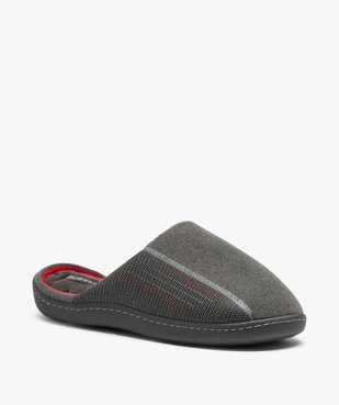 Chaussons homme forme mule - Isotoner vue2 - ISOTONER - GEMO