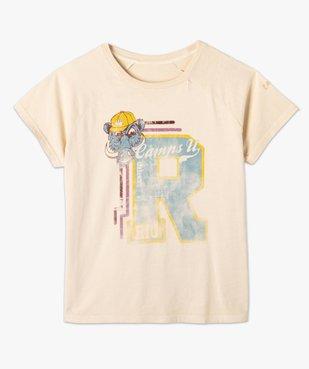 Tee-shirt femme avec large motif – Camps United vue4 - CAMPS UNITED - GEMO