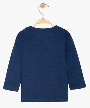 Tee-shirt bébé fille à manches longues motif - SmileyWorld vue2 - SMILEY - GEMO