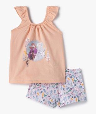 Pyjashort fille imprimé - La Reine des Neiges vue1 - DISNEY DTR - GEMO