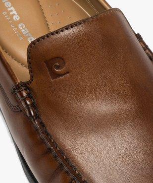Mocassins homme unis en cuir – Pierre Cardin vue6 - PIERRE CARDIN D - Nikesneakers