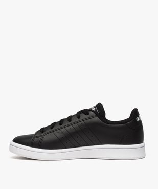Baskets femme à lacets - Adidas Grand Court Base vue3 - ADIDAS - Nikesneakers