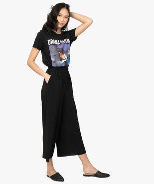 Tee-shirt femme Disney Villains vue5 - DISNEY - GEMO