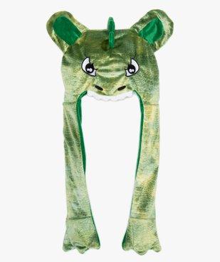 Bonnet garçon à motif dinosaure avec longues pattes vue1 - GEMO (ENFANT) - GEMO