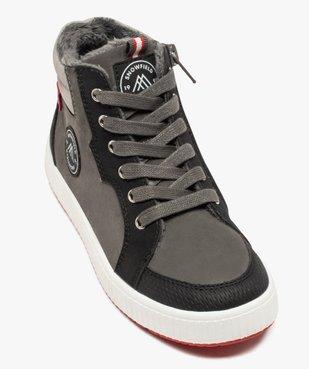 Boots garçon à semelle contrastante et col rembourré vue5 - Nikesneakers (ENFANT) - Nikesneakers