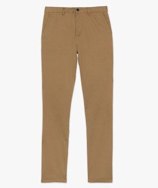 Pantalon homme chino coupe slim vue4 - GEMO (HOMME) - GEMO