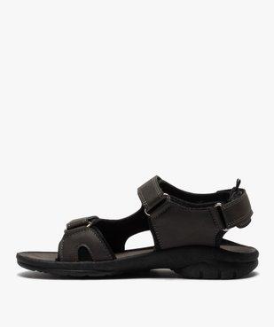 Sandales sport garçon à brides scratch vue3 - SANS MARQUE - GEMO