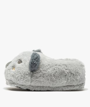 Chaussons femme 3D en forme de koala vue3 - GEMO(HOMWR FEM) - GEMO