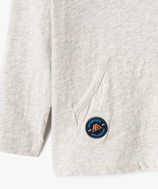 Tee-shirt garçon à manches longues et capuche vue2 - Nikesneakers (ENFANT) - Nikesneakers