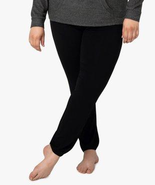 Pantalon de pyjama femme resserré dans le bas  vue1 - GEMO(HOMWR FEM) - GEMO