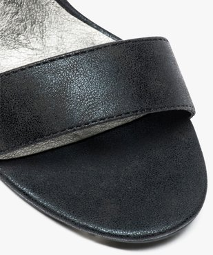 Sandales femme à talon et larges brides vue6 - GEMO(URBAIN) - GEMO