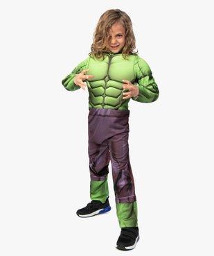 Déguisement enfant Hulk - Marvel (2 pièces) vue5 - MARVEL - GEMO