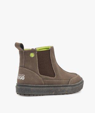 Boots bébé garçon à surpiqûres contrastées – Gepy vue4 - FRIENDLY GEPY - GEMO