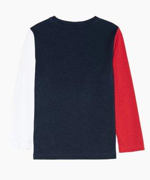 Tee-shirt garçon multicolore à manches longues – Lulu Castagnette vue4 - LULUCASTAGNETTE - GEMO