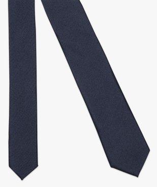 Cravate unie pour homme vue2 - GEMO (HOMME) - GEMO