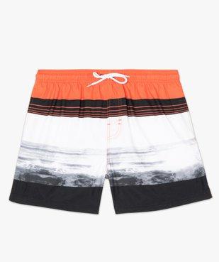 Short de bain homme multicolore vue4 - GEMO (PLAGE) - GEMO