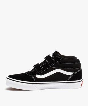 Baskets garçon skateshoes bicolores - Vans Ward Mid vue3 - VANS - Nikesneakers