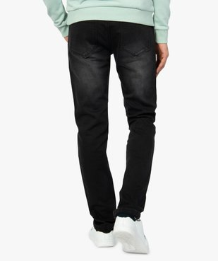 Jean homme coupe straight vue3 - GEMO (HOMME) - GEMO