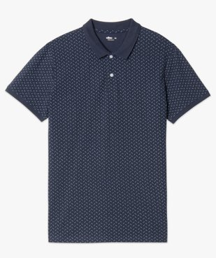 Polo homme à manches courtes et motifs vue4 - Nikesneakers C4G HOMME - Nikesneakers
