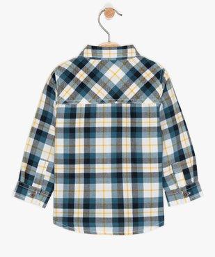 Ensemble bébé garçon (2 pièces) chemise et tee-shirt vue2 - GEMO(BEBE DEBT) - GEMO
