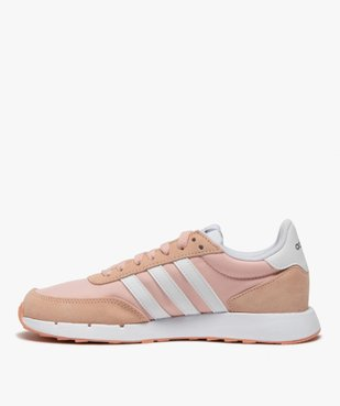 Baskets femme bicolores à lacets – Adidas Run 60s vue3 - ADIDAS - Nikesneakers