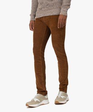 Pantalon homme en velours fines côtes extensible vue1 - Nikesneakers (HOMME) - Nikesneakers