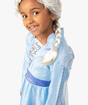 Perruque enfant Elsa La Reine des Neiges - Disney vue1 - DISNEY - GEMO