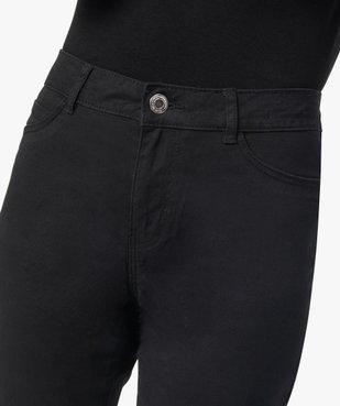 Pantalon femme en toile coupe Slim vue2 - GEMO(FEMME PAP) - GEMO