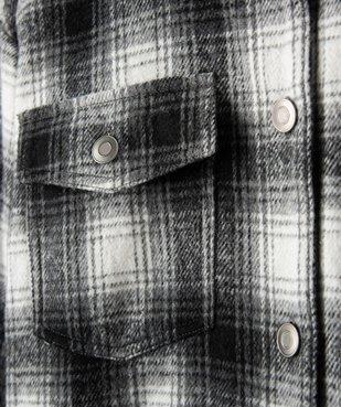 Veste fille façon chemise à carreaux vue3 - GEMO (ENFANT) - GEMO