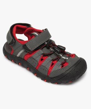 Sandales garçon multi-matières tout terrain vue5 - Nikesneakers (ENFANT) - Nikesneakers