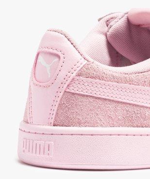 Baskets femme bicolores dessus cuir – Puma Vikky vue6 - PUMA - Nikesneakers
