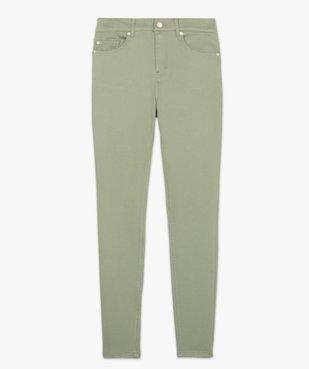 Pantalon femme Skinny taille haute super stretch vue4 - GEMO(FEMME PAP) - GEMO