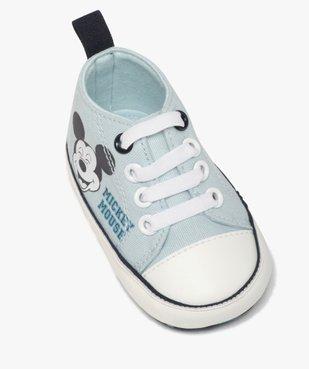 Tennis de naissance garçon en toile Mickey vue5 - MICKEY - Nikesneakers
