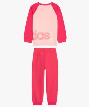 Survêtement fille 2 pièces : sweat et pantalon de jogging - Adidas vue2 - ADIDAS - Nikesneakers
