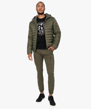 Pantalon homme cargo multipoche au coloris unique vue5 - Nikesneakers (HOMME) - Nikesneakers