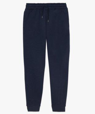 Pantalon de jogging homme contenant du coton bio vue4 - GEMO C4G HOMME - GEMO