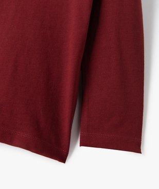 Tee-shirt garçon manches longues à poche poitrine vue3 - Nikesneakers C4G GARCON - Nikesneakers