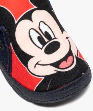Chaussons bébé bottillons à scratch - Mickey vue6 - MICKEY - GEMO