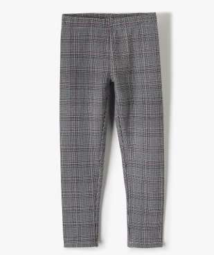 Pantalon fille en maille extensible à carreaux vue1 - Nikesneakers (ENFANT) - Nikesneakers