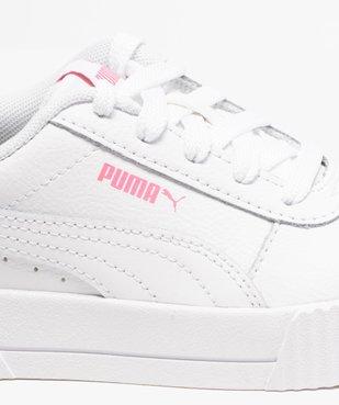 Tennis fille à semelle bicolore et lacets - Puma vue6 - PUMA - GEMO