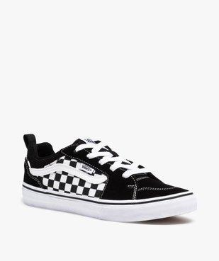 Baskets garçon skateshoes à damier - Vans Filmore Checker vue2 - VANS - Nikesneakers