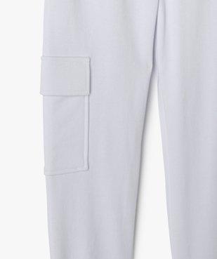 Pantalon de jogging fille esprit cargo vue2 - GEMO (JUNIOR) - GEMO