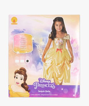 Déguisement fille Belle La belle et la bête- Disney vue4 - DISNEY - GEMO