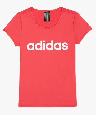 Tee-shirt fille respirant avec empiècement mesh au dos - Adidas vue1 - ADIDAS - GEMO